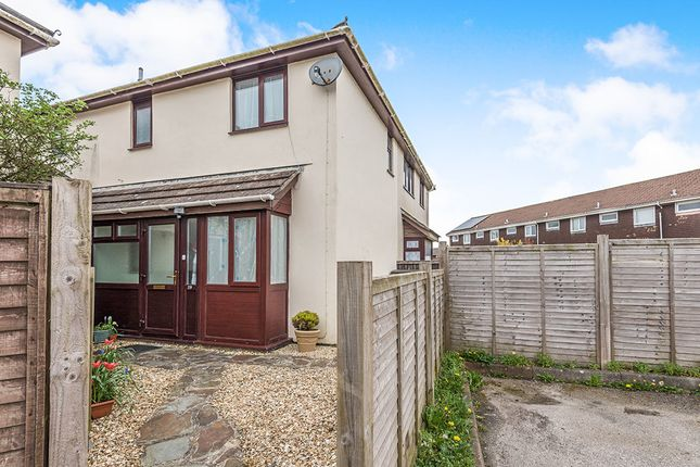 Thumbnail Semi-detached house for sale in Penrose Court, Tolvaddon, Camborne