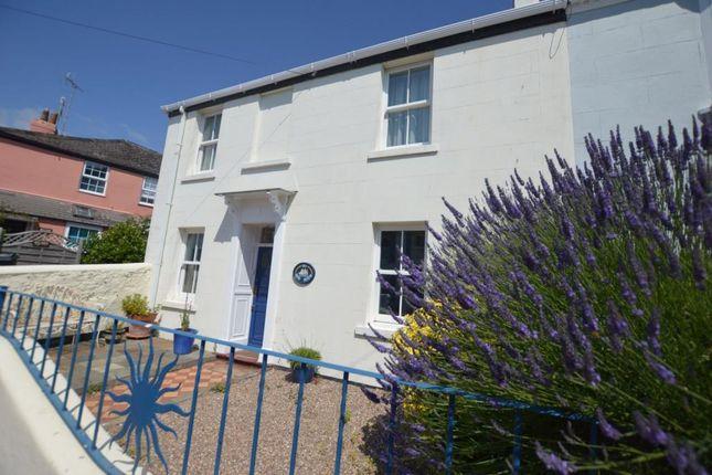 Thumbnail 4 bed end terrace house to rent in Albion Street, Shaldon, Devon