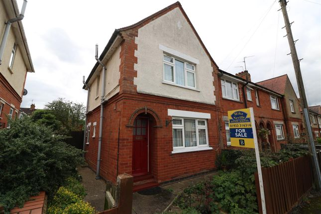 Thumbnail End terrace house for sale in Kings Avenue, Higham Ferrers, Rushden