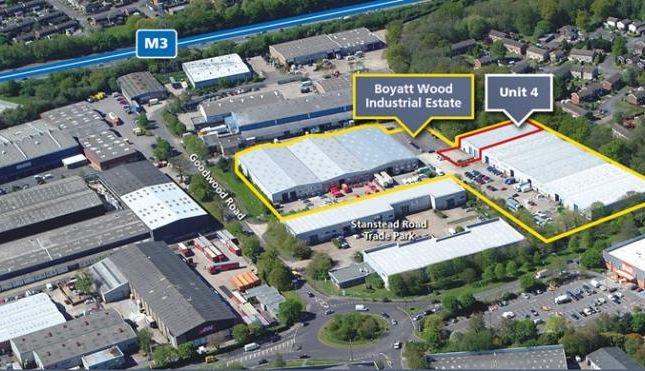 Thumbnail Industrial to let in Unit 4, Boyatt Wood Industrial Estate, Goodwood Road, Eastleigh