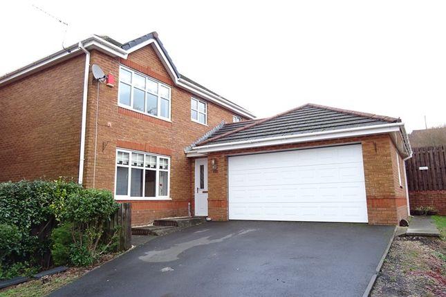 Thumbnail Detached house for sale in Penybryn View, Bradley Gardens, Merthyr Tydfil