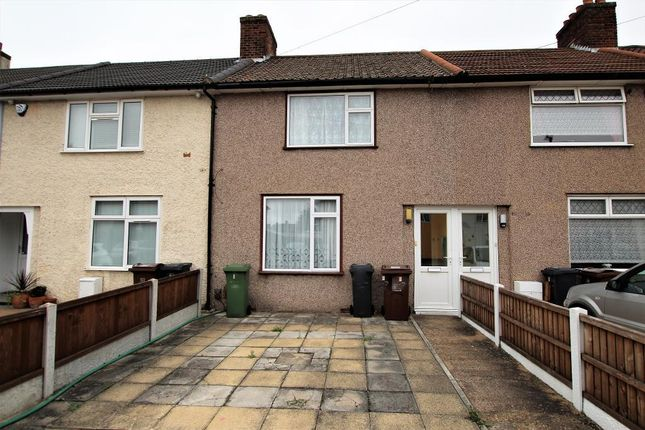 Thumbnail Terraced house to rent in Ivyhouse Road, Dagenham, Essex