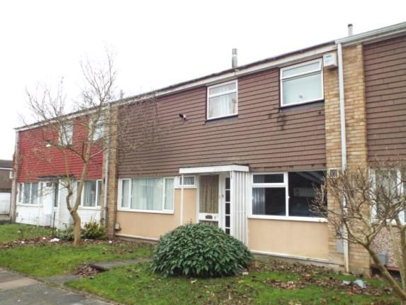 3 bed terraced house for sale in Thrales Close, Luton, Bedfordshire