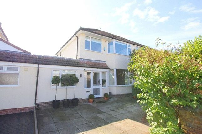 Thumbnail Semi-detached house for sale in Darsefield Road, Childwall, Liverpool