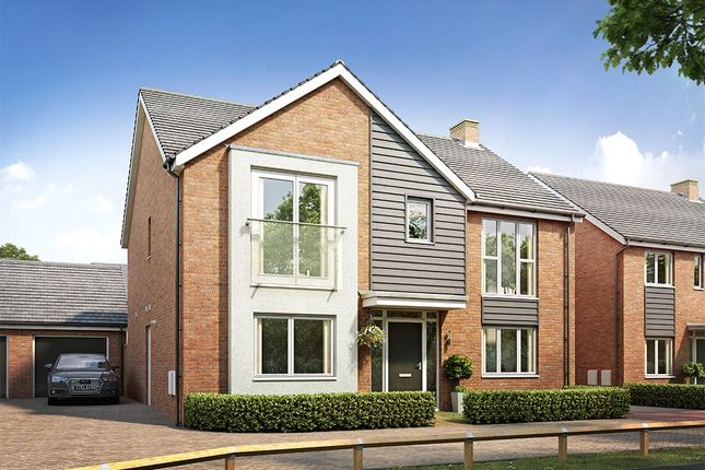 Thumbnail Detached house for sale in Taylors Lane, Worcester, South Of Broomhall Way, Worcester
