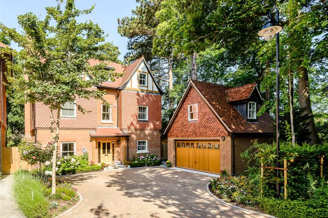 Thumbnail Detached house for sale in Queensbury Gardens, Ascot, Berkshire
