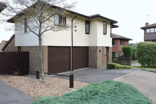 Thumbnail Detached house for sale in Brickfields Close, Lychpit, Basingstoke