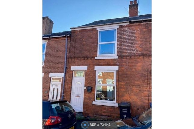 Thumbnail Terraced house to rent in Shirland Street, Chesterfield