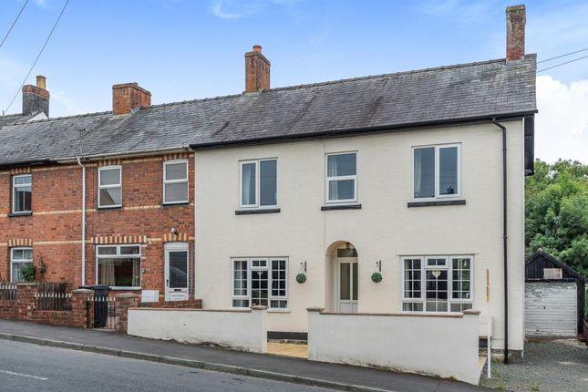 Thumbnail End terrace house for sale in Glenigen, Brooklands Road