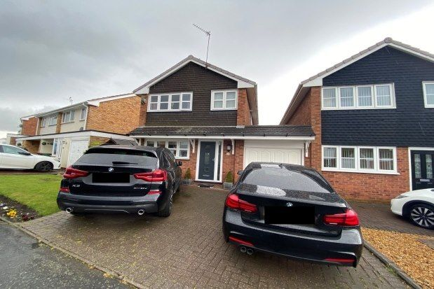 3 bed link-detached house to rent in Gainsbrook Crescent, Cannock WS11
