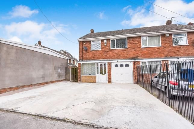 Thumbnail Semi-detached house for sale in Harden Close, Walsall