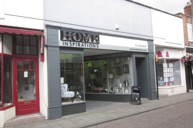 Thumbnail Retail premises for sale in 15 Balderton Gate, 15 Balderton Gate, Newark