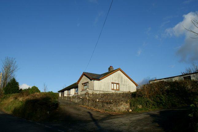 Detached bungalow for sale in Pontsian, Llandysul