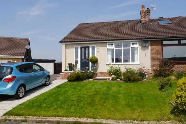 Thumbnail Semi-detached bungalow for sale in Singleton Grove, Westhoughton