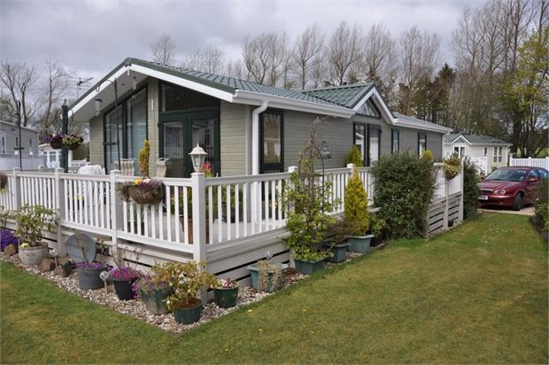 Thumbnail Mobile/park home for sale in Heathergate Country Park, Lowgate, Hexham, Northumberland.