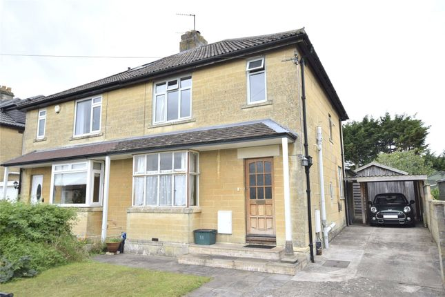 Thumbnail Semi-detached house for sale in Horsecombe Brow, Bath, Somerset