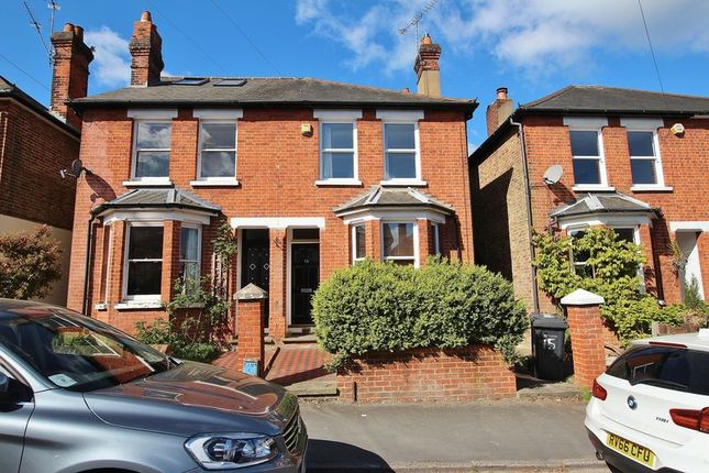 Thumbnail Semi-detached house for sale in Agraria Road, Guildford