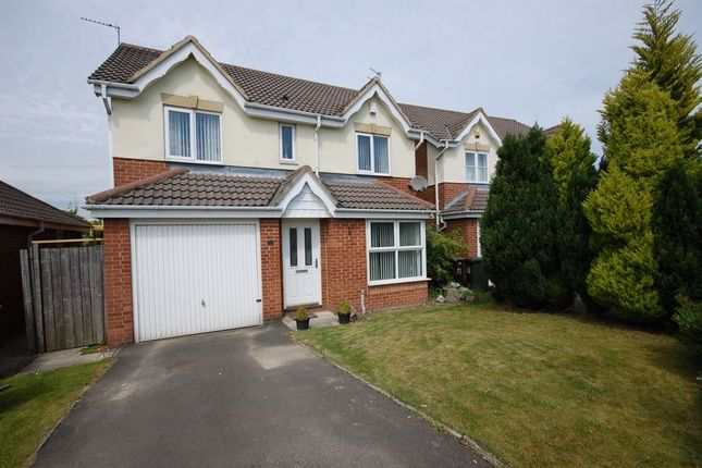 Thumbnail Detached house for sale in St Cuthberts Way, Holystone, Newcastle Upon Tyne
