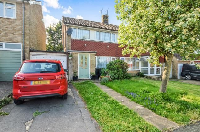 Thumbnail Semi-detached house for sale in Sandilands, Ashford, Kent