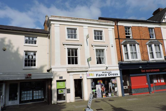 Thumbnail Commercial property to let in Town Centre, Redditch, Worcs