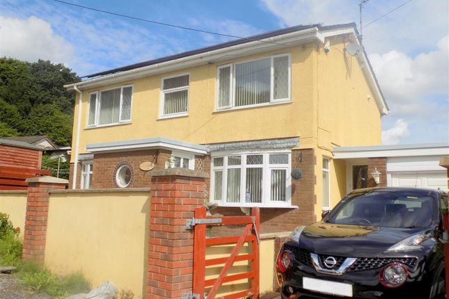 Thumbnail Detached house for sale in Darran Close, Neath Abbey, Neath