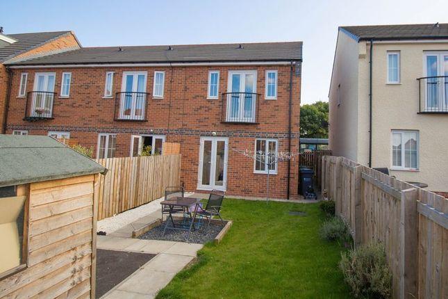 Thumbnail Semi-detached house for sale in Rennison Mews, Blaydon-On-Tyne