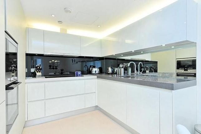 Kitchen of The Bezier Apartment, 91 City Road, London EC1Y