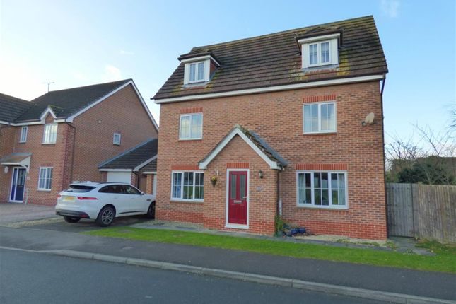Thumbnail Detached house for sale in Warwick Drive, Beverley