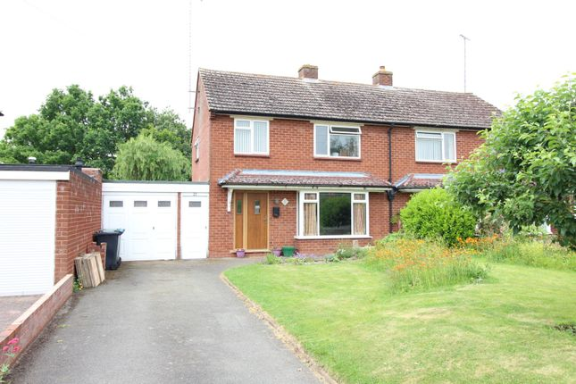 Thumbnail Semi-detached house for sale in Gerard Road, Alcester