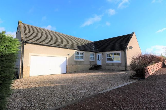 Thumbnail Detached bungalow for sale in Burn Brae, Carwood, Biggar