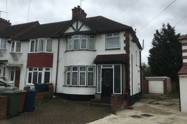 Thumbnail End terrace house for sale in Connaught Road, Harrow Weald