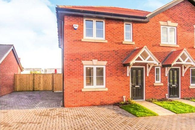 Thumbnail Semi-detached house for sale in Acres Walk, Beck Row, Bury St. Edmunds