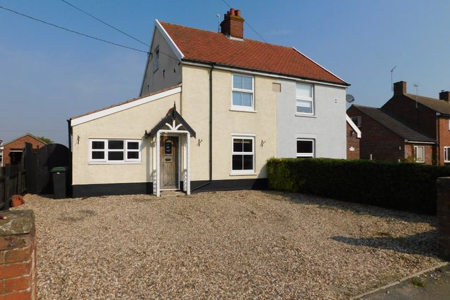 Semi-detached house for sale in Bildeston Road, Combs, Stowmarket