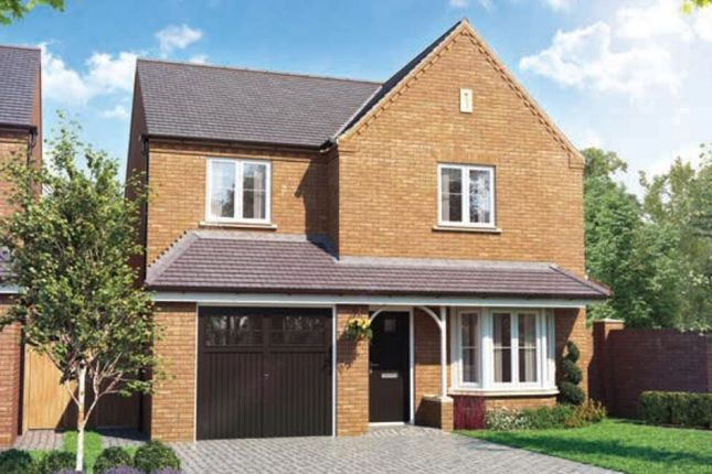 Thumbnail Detached house for sale in Hayton Way, Kingsmead, Milton Keynes