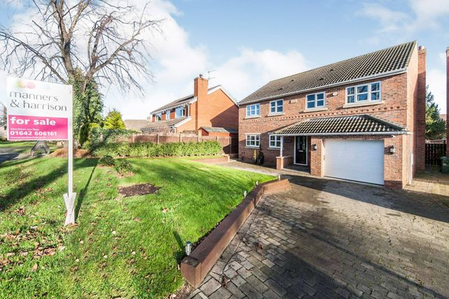 Thumbnail Detached house for sale in Manor Place, Stockton-On-Tees