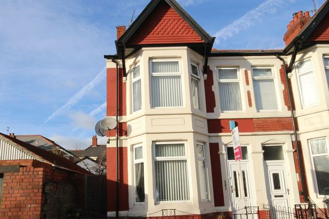 Thumbnail Terraced house for sale in Westville Road, Penylan, Cardiff
