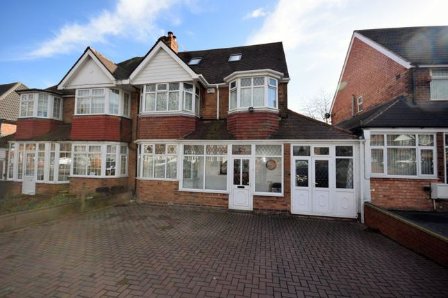 Thumbnail Semi-detached house for sale in Bromford Road, Birmingham