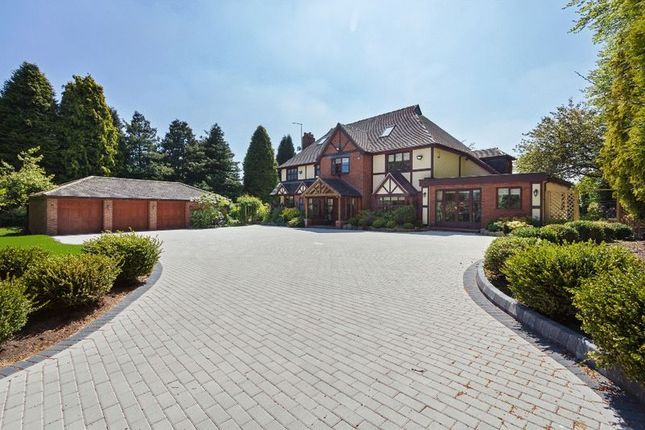 Thumbnail Detached house for sale in Shut Lane Head, Butterton, Newcastle-Under-Lyme