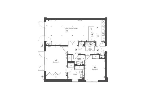 Floorplan of Milverton Grange, 1 Milverton Grange, Milverton Road, Giffnock G46