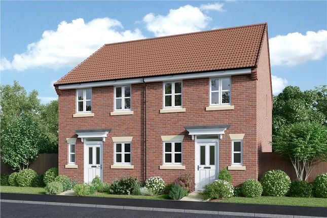 "Thumbnail Semi-detached house for sale in ""Beckford"" at Hinckley Road, Sapcote, Leicester"