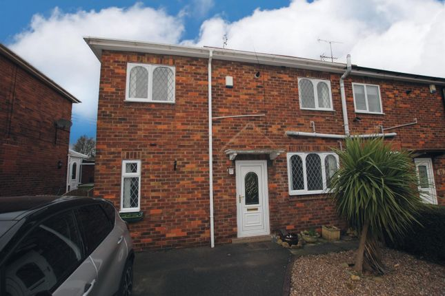 2 bed semi-detached house to rent in Franklin Crescent, Whitwell, Worksop S80