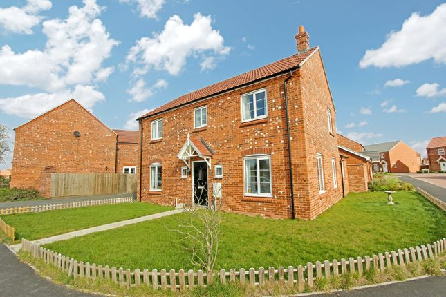 Thumbnail Detached house for sale in Willow Road, Leicester Forest East, Leicester