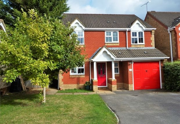 Thumbnail Detached house for sale in Corfe Way, Farnborough, Hampshire