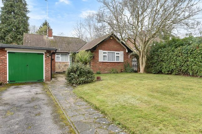 Thumbnail Detached bungalow for sale in Virginia Water, Surrey