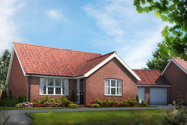 Thumbnail Bungalow for sale in The Signals, Norwich Road, Watton