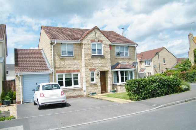 Thumbnail Detached house for sale in Newbury Avenue, Calne