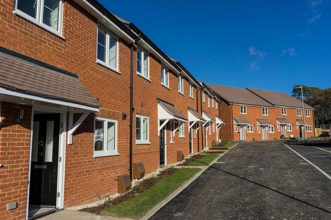 Thumbnail Terraced house for sale in Horseshoe Crescent, Ferndown