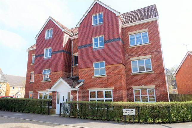 Thumbnail Flat for sale in Fallow Crescent, Southampton