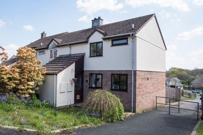 Thumbnail Semi-detached house to rent in Monksmead, Tavistock