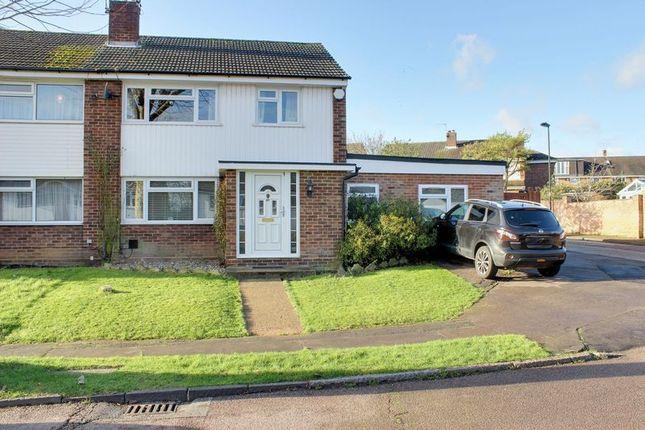 Thumbnail Semi-detached house for sale in Monks Road, Enfield